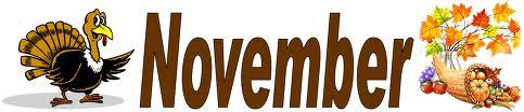 November images clip art 2 image