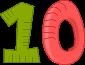 Number 10 Clip Art At Clker Com Vector Clip Art Online Royalty Free