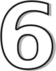 Number 6 Clip Art. 996006b4cdc4818c2865f8b1928e2a .