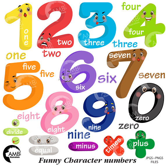 Numbers Clipart-Clipartlook.com-570