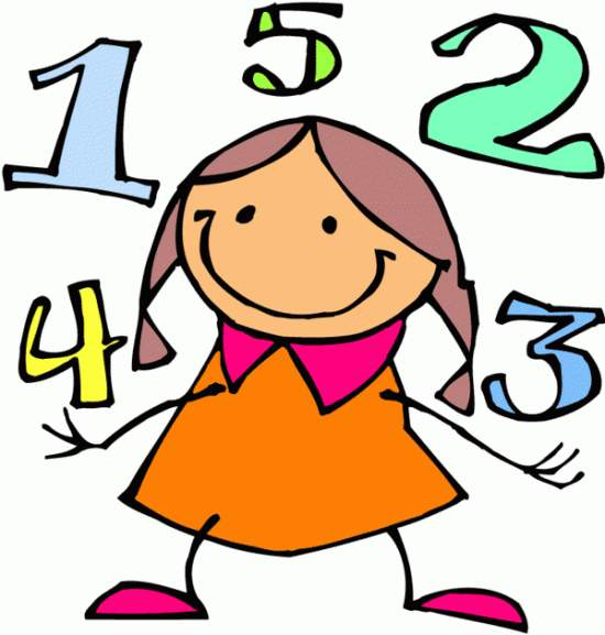 Numbers number 2 clipart image