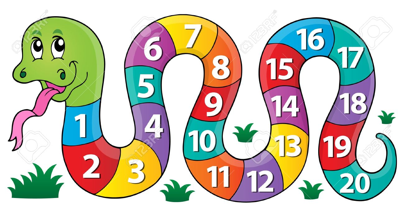 snake with numbers theme image 1 eps10 vector illustration rh 123rf com  clip art of numbers
