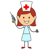 Nurse Injection Clipart