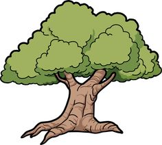Oak Tree Clip Art | Tree Oak Scalable Vector Graphics SVG
