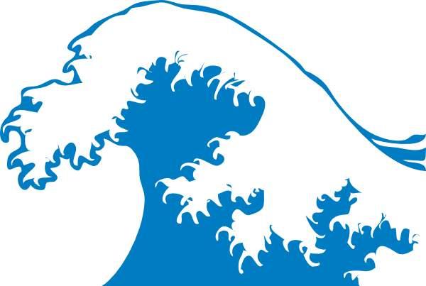 Ocean wave images clip art