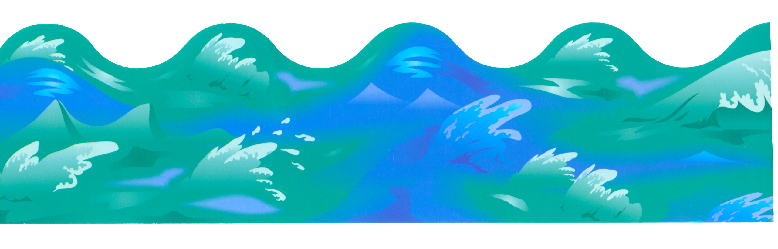 Ocean Waves Border Clipart Best