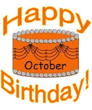 October Birthdays