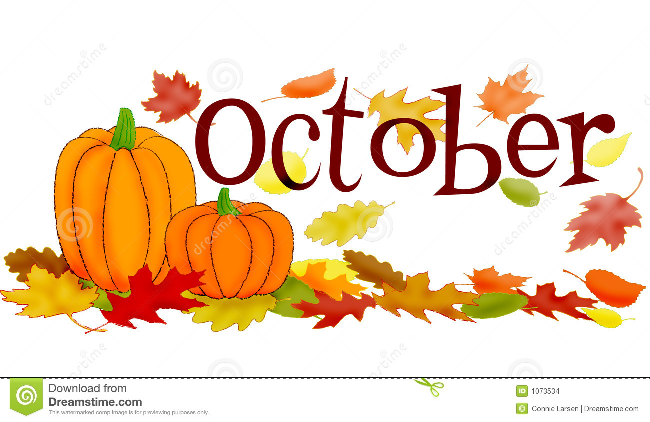 Fall clipart october birthday #1