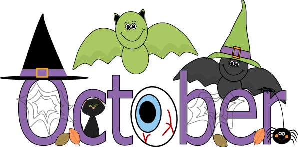 Month Of October Clipart .