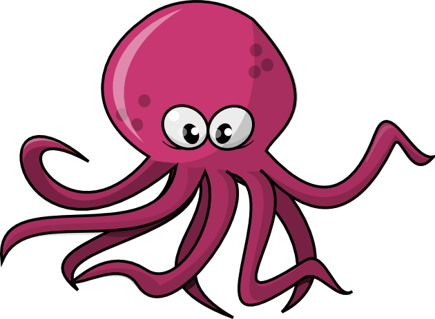 Free to Use Public Domain Octopus Clip Art
