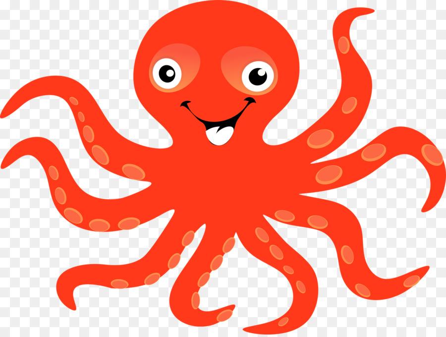 Octopus Silhouette Clip art - - Octopus Clipart