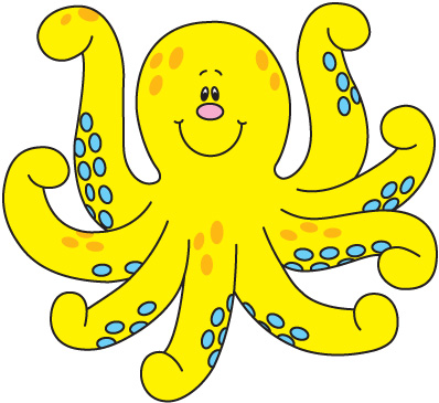 Octopus free to use cliparts