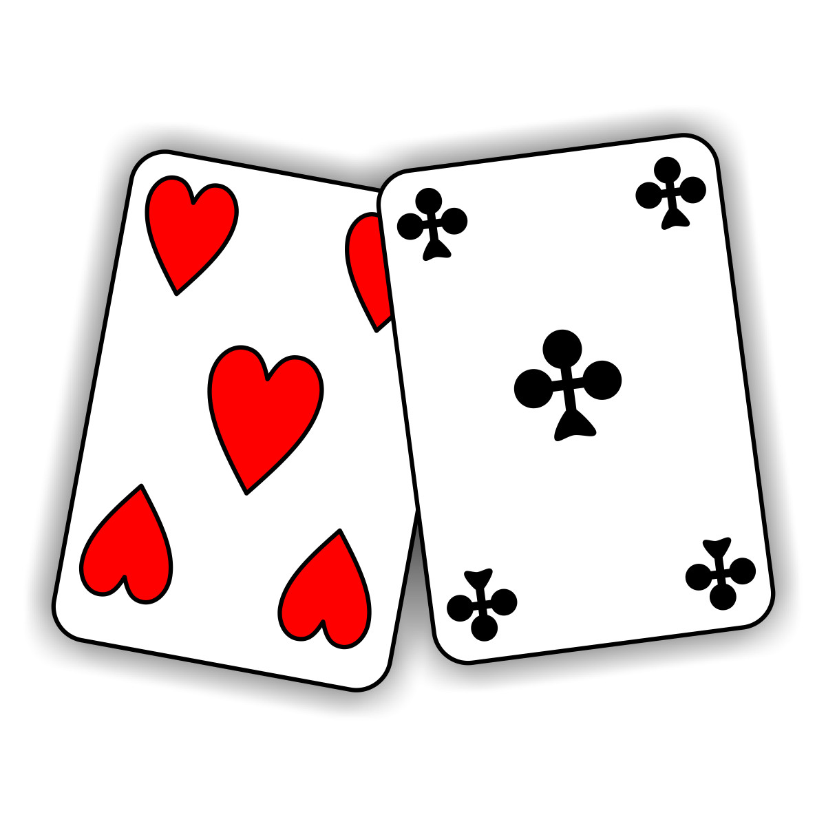 Of Playing Cards Clipart .