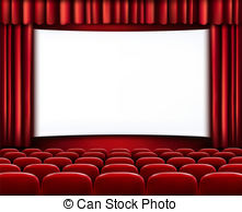 of red cinema or theater .