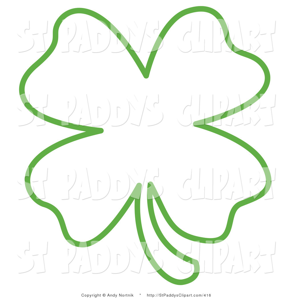 Of Shamrock Clover Illustrations And Clipart