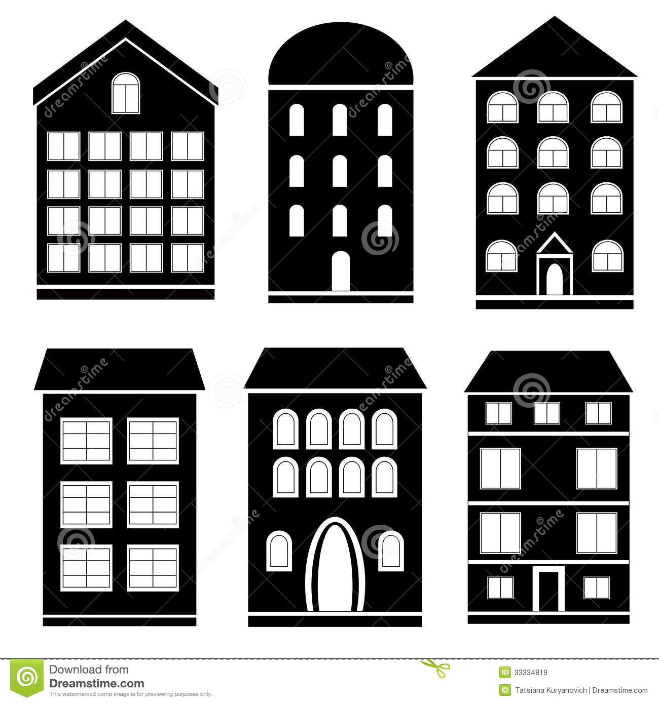 Office Building Clipart Black And White Building Clipa