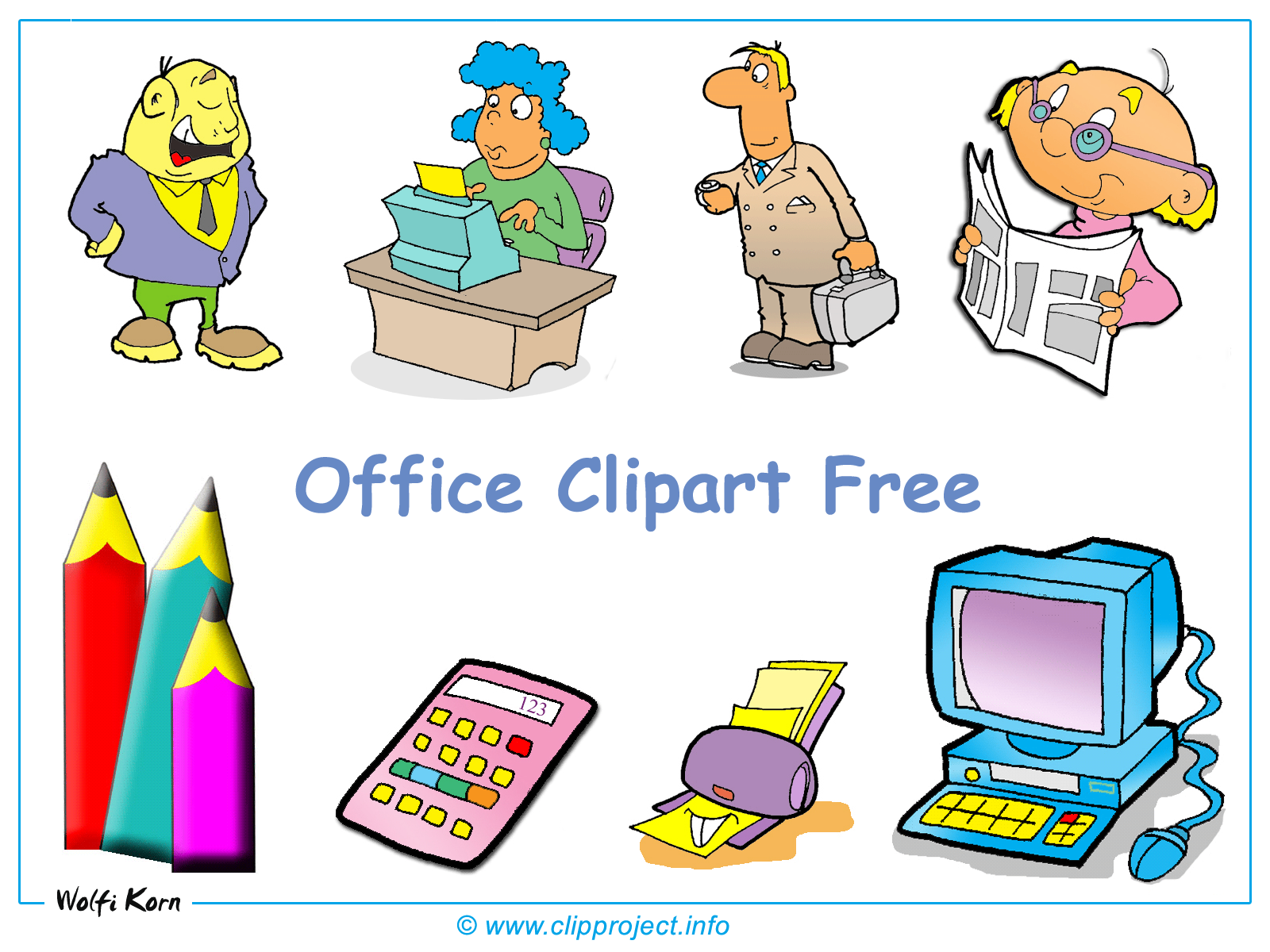 Office Clipart Desktop .