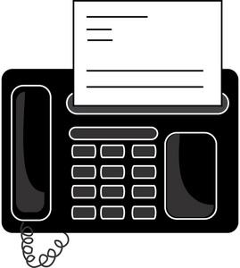 Office Fax Machine Clipart Im - Fax Clipart