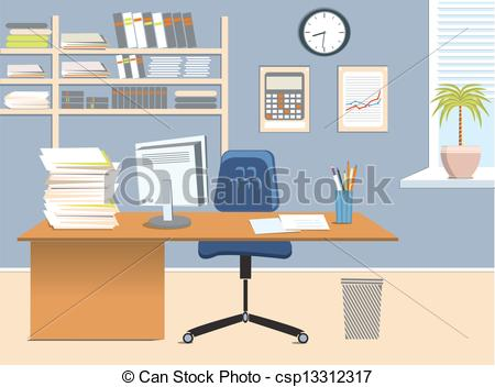 Office room Clipartby ...