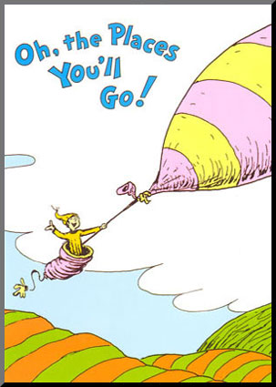 oh the places youll go clip ... On Dr Suess Birthday A List Of ..
