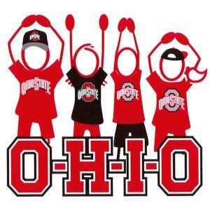 Ohio State Buckeyes Clip Art 3