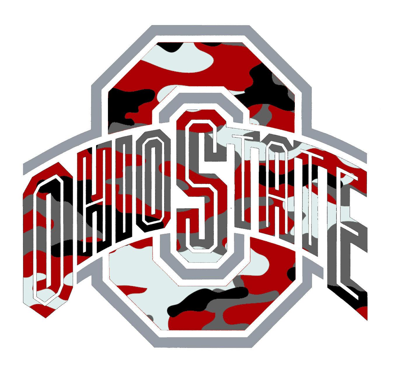 Ohio State Logo Camo Image