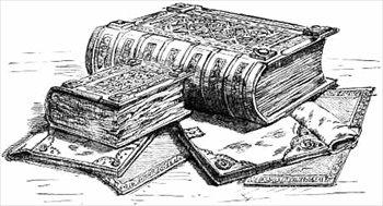 old-books ... clipart books
