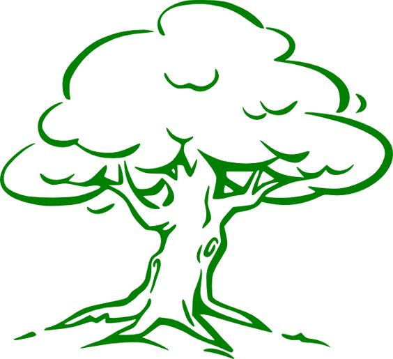 Old Oak Tree Clip Art - Bing Images
