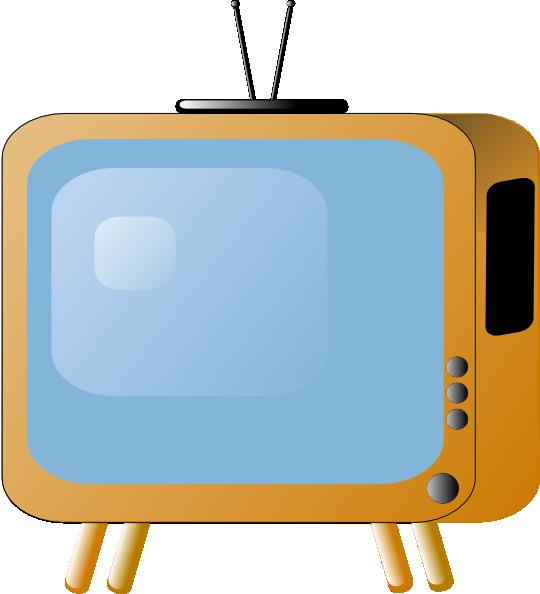 Old Styled Tv Set Clip Art At Clker Com Vector Clip Art Online