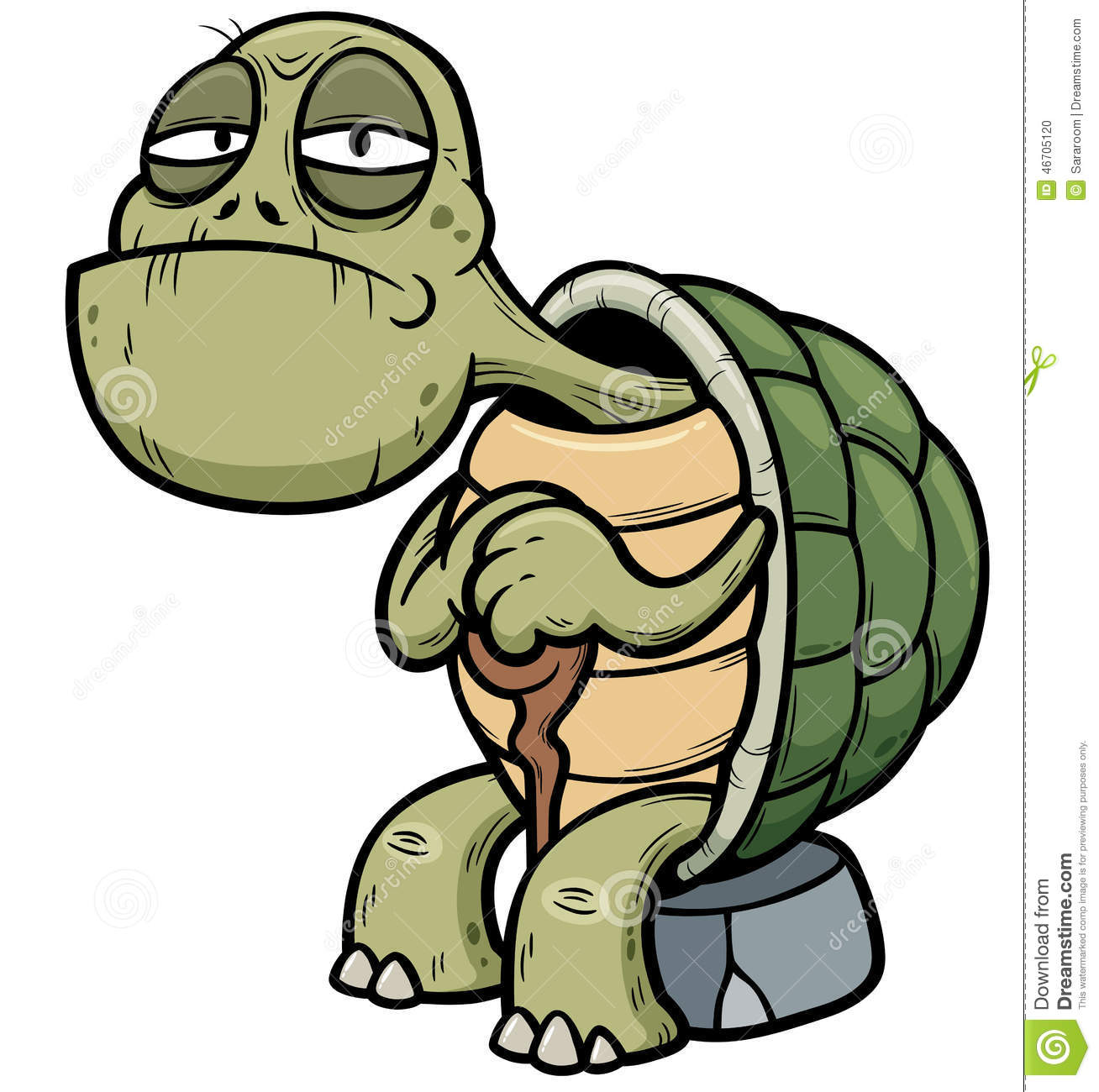 Old Turtle Clipart #1