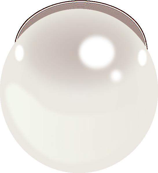 One Pearl Clip Art At Clker Com Vector Clip Art Online Royalty Free