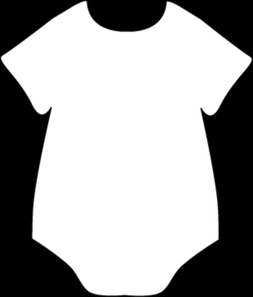 Onesie Black White Free Images At Clker Com Vector Clip Art Online