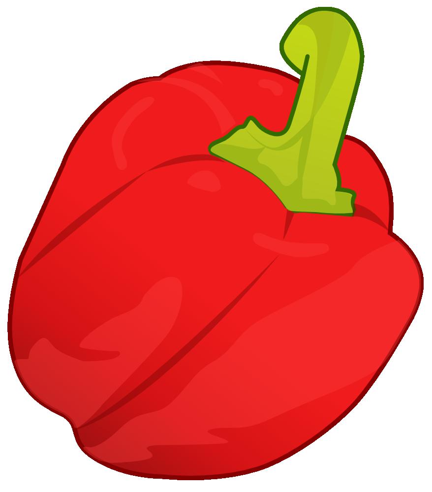 Onlinelabels Clip Art Red Pepper