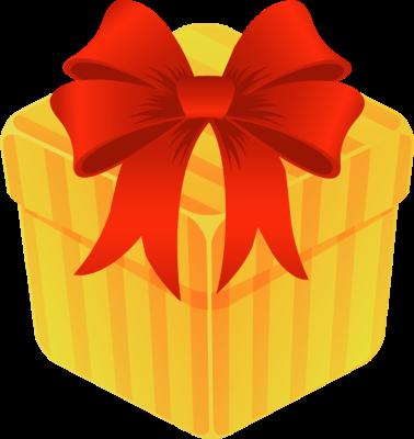 open gift clipart