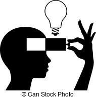 ... Open a mind to learn new idea education - Person learning or.