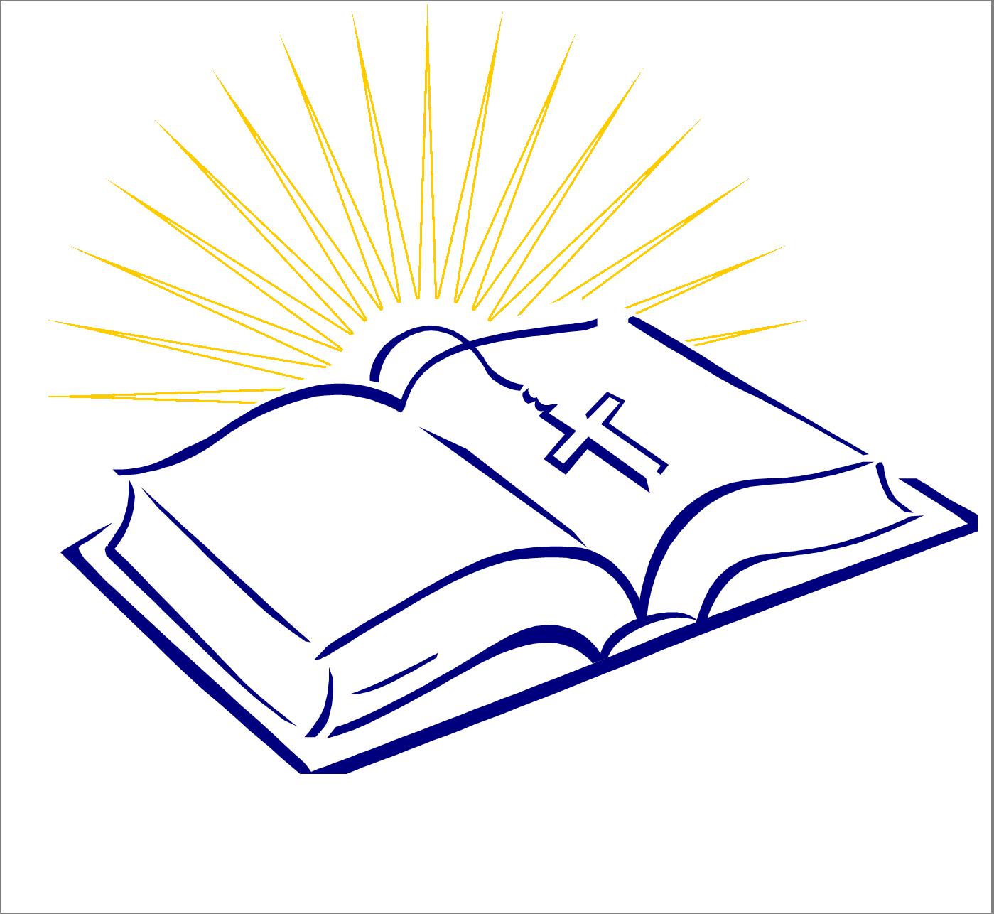 ... Open Bible Clipart ...