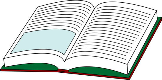 Open book clip art free clipart images