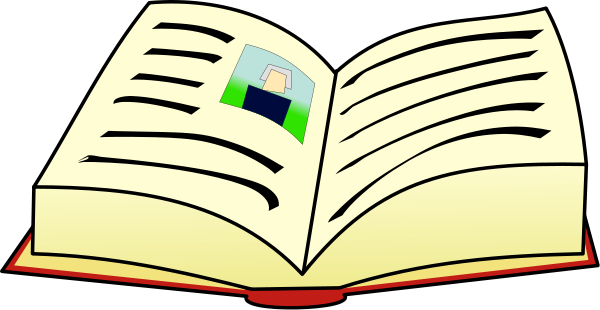 Open Book Clip Art Png Large Open Book Png