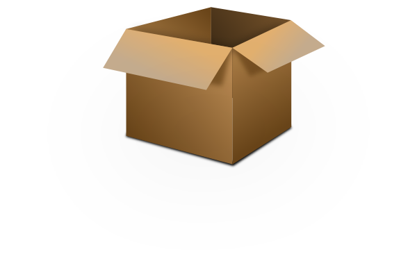 Open Box Clipart this image as: