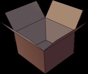 Open Box Clip Art