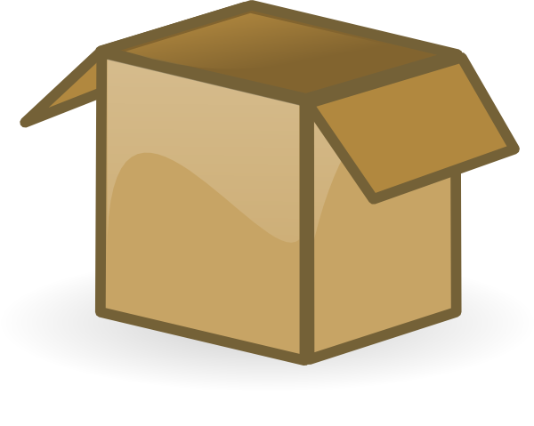 Open Box Clip Art at Clker hd - Open Box Clipart