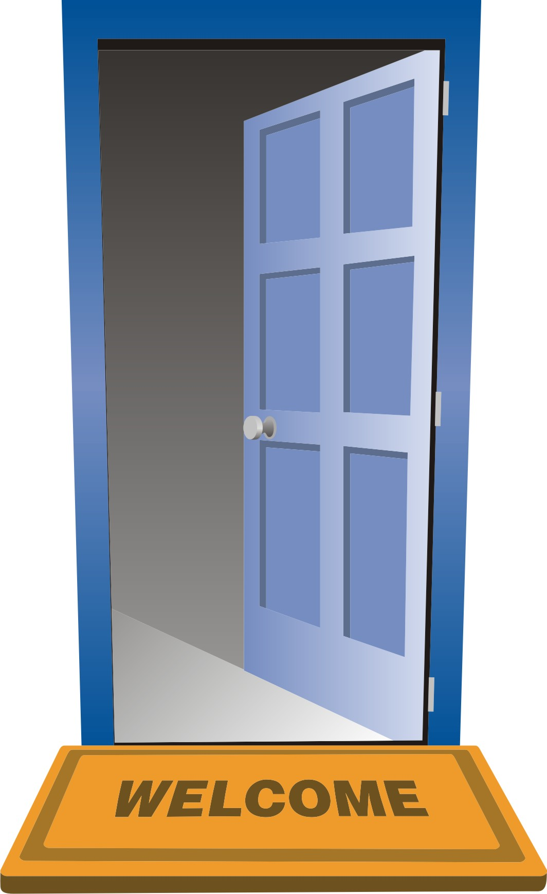 Open Door Clip Art Art Deco Door Door Open