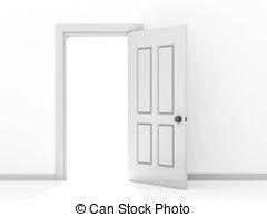 Open door - Conceptual .