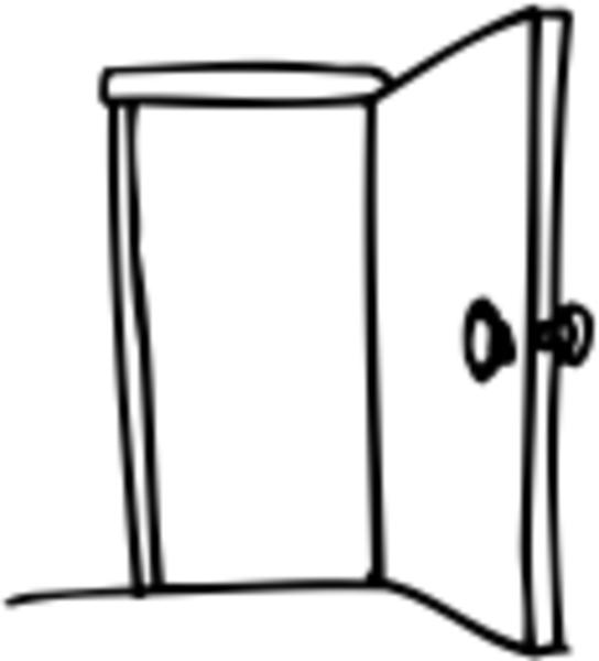 Open Door Free Images At Clker Com Vector Clip Art Online Royalty