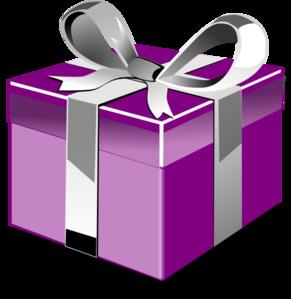 Open gift box clipart - .
