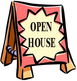 Clipart Open House Clipart