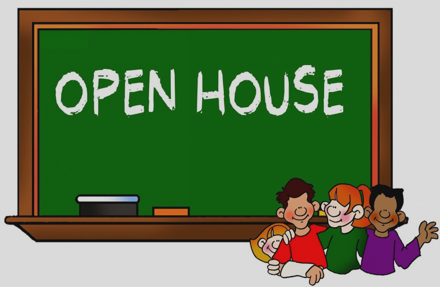 Gallery Of Open House Clip Art Maspeth High School