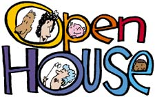Open House Free Clipart #1