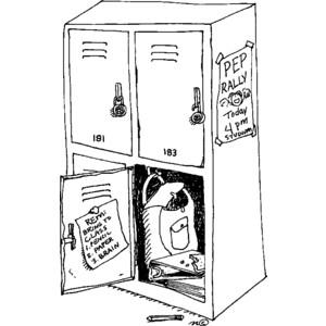 open locker - Clip Art Gallery