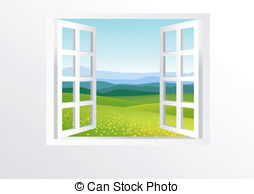 ... Open window and nature